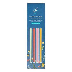 Chic & Tonic Silicone Straw Set